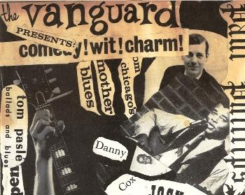 Vanguard Coffee House flyer