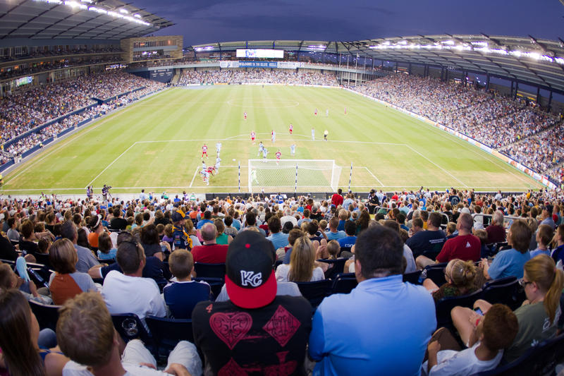 Sporting Park in Kansas City, Kan.