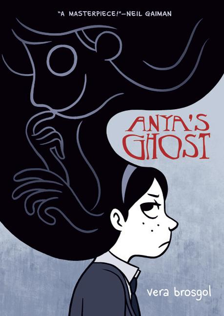 "Vera Brosgol's ""Anya's Ghost,"", one of Johnson County Librarian Kate Pickett's picks for best youth books of 2011."