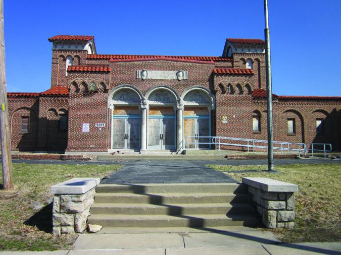 The now closed Frances Willard School in Kansas City, Mo.