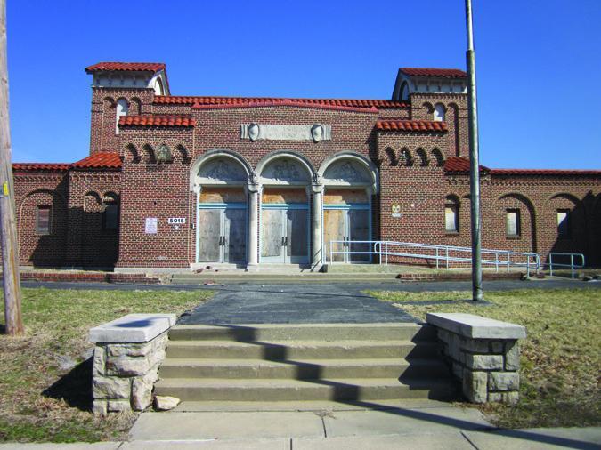 The now closed Frances Willard School in Kansas City, Mo.