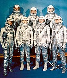 The Project Mercury astronauts