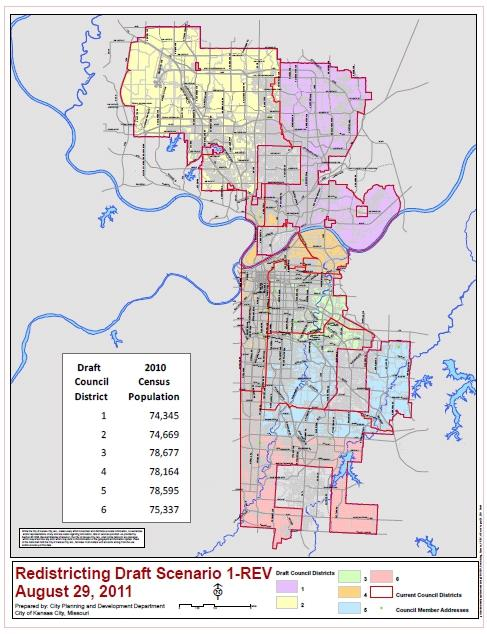 Council Approves Redistricting Map, Tax Breaks | KCUR