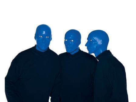 The Blue Man Group performs through Sunday at the Kansas City Music Hall downtown.