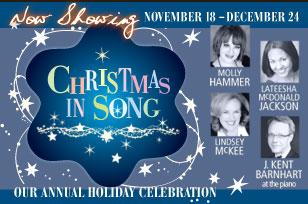 "Quality Hill Playhouse presents its annual holiday ""Christmas in Song"" through Saturday December 24."