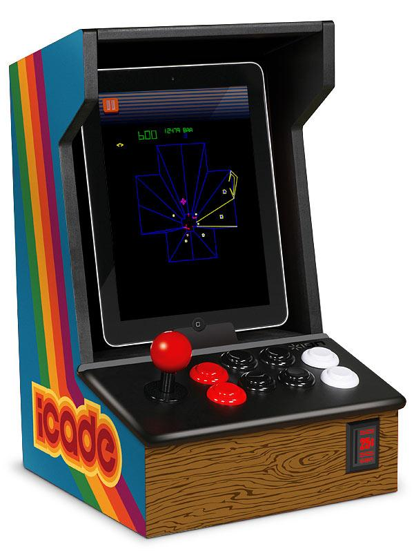 "The ""iCADE"" - an iPad Arcade Cabinet."