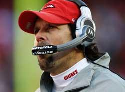 Kansas City Chiefs head coach Todd Haley was fired on Monday.