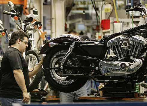 "Harley Davidson Kansas City Assembly Plant, one of the examples cited in Isaac Getz's book ""Freedom, Inc."""
