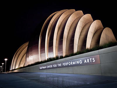 The Kauffman Center for the Performing Arts opened in September 2011.
