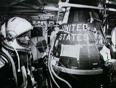 A Mercury capsule