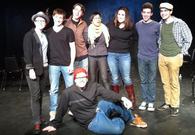 Young Playwrights Inc. winners, 2010, including Zachary Weaver.
