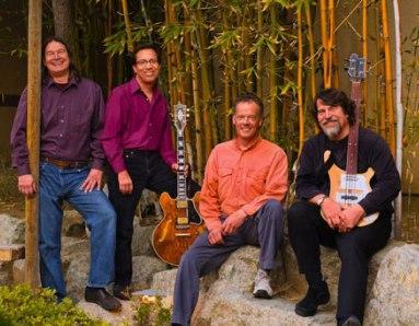 The Brubeck Brothers Quartet: Dan Brubeck (drums), Mike DeMicco (guitar), Chuck Lamb (piano), Chris Brubeck (bass & trombone)