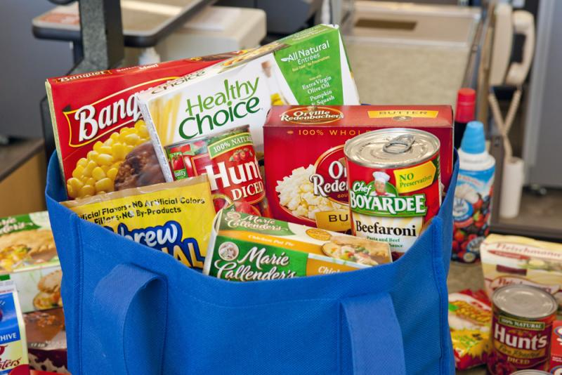 ConAgra is behind giant brands like Chef Boyardee, Healthy Choice and Orville Redenbacher.