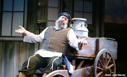 Fiddler on the Roof on stage this weekend at the Carlsen Center.
