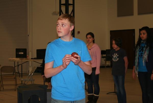 """Jayke Workman, 15, as Jonas in """"The Giver."""""""
