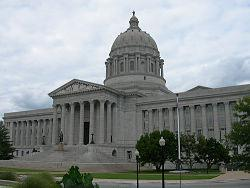 The Missouri Statehouse.