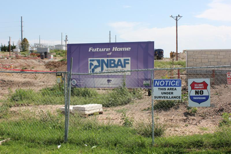 The site designated to become the home of the National Bio and Agro-Defense Facility, or NBAF, is on the campus of Kansas State University in Manhattan, Kan.