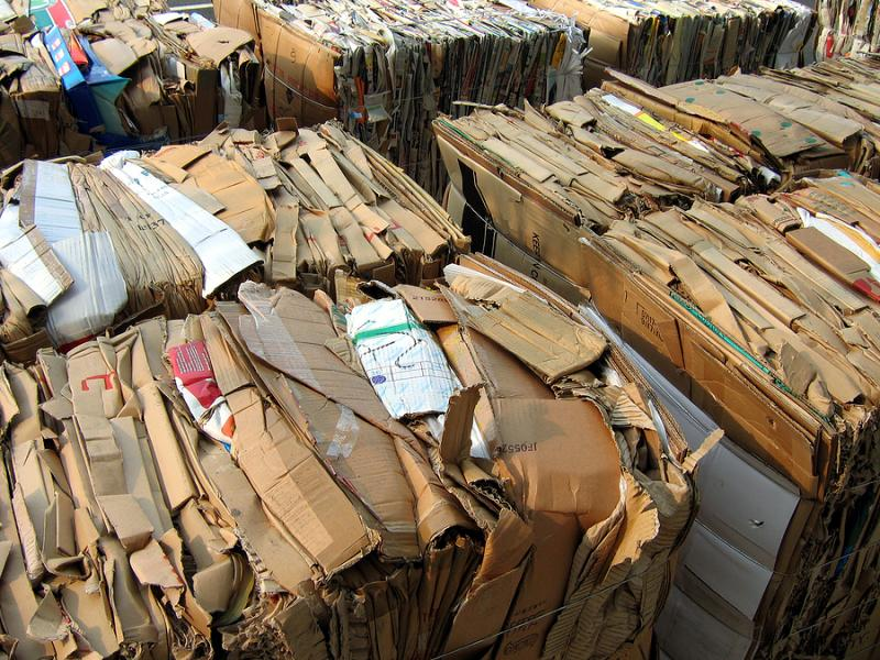 University of Kansas Hospital estimates cardboard recycling has reduced the total waste it sends to landfills by about a third.
