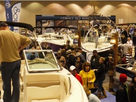 Escape the cold weather with fantasies of watercraft at the Kansas City Boat and Sport Show this weekend at Bartle Hall.