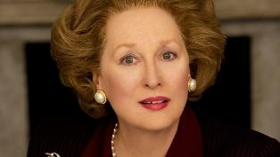 Meryl Street as former British Prime Minister Margaret Thatcher