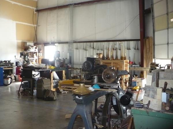 SLIDESHOW: Inside Mike Corrigan's instrument repair workshop.  Click for more photos.