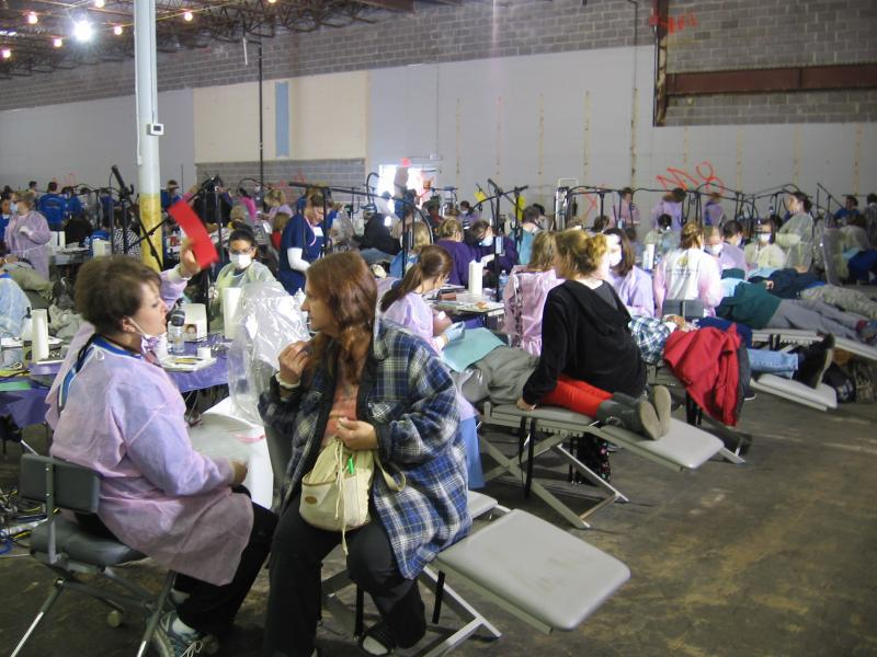 Kansas Mission of Mercy 2012 is in full swing in Kansas City, Kansas/