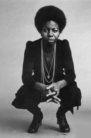 Nina Simone (February 21, 1933 - April 21, 2003).