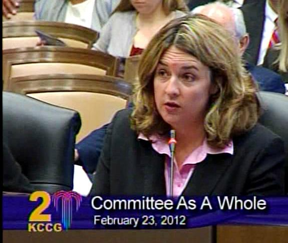 KC Parks Board Member Aimee Gromowsky warns snow plowing will be cut short if budget is slashed.