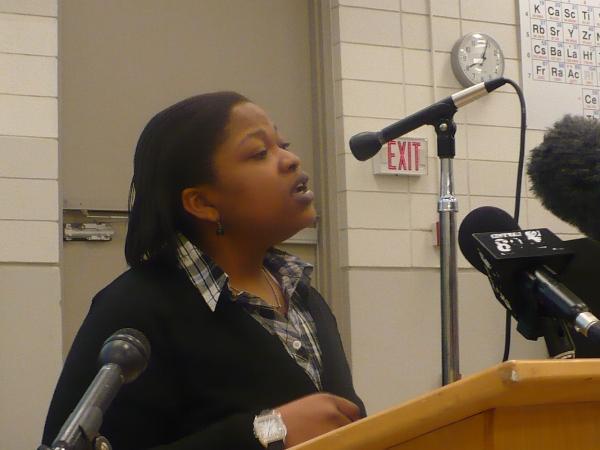 Latoya Williams-Green is a championship debater at Emporia State University.