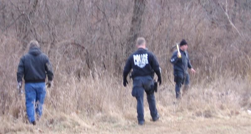 Kansas City police and hundreds of  volunteers searched woods near the home of Renee Pernice in 2009.  Her husband has entered a surprise guilty plea, days before his murder trial was to begin.