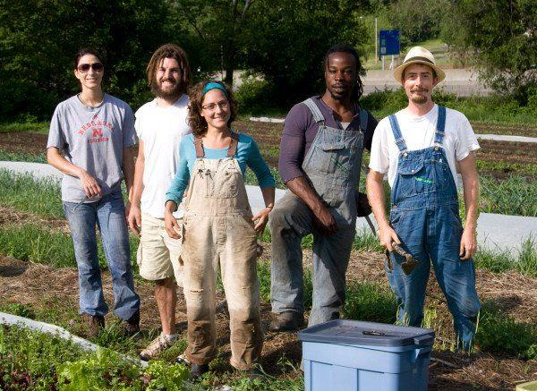 Cultivate Kansas City's apprentices at the Gibbs Road Farm are training to be farmers of the future.