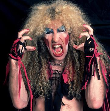 "Dee Snider as many people will remember the lead singer of ""Twisted Sister."""
