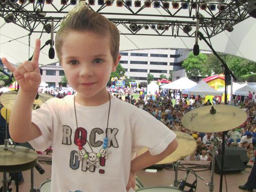 Kids rock at this weekend's Jiggle Jam Family Fest at Crown Center
