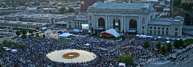 "The 10th annual ""Celebration at the Station"" Memorial Day concert takes place Sunday at Union Station"