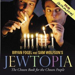 "Bryan Fogel and Sam Wolfson present their Off-Broadway comedy hit ""Jewtopia"" Sunday in a fundraiser for Temple B'nai Jehudah"