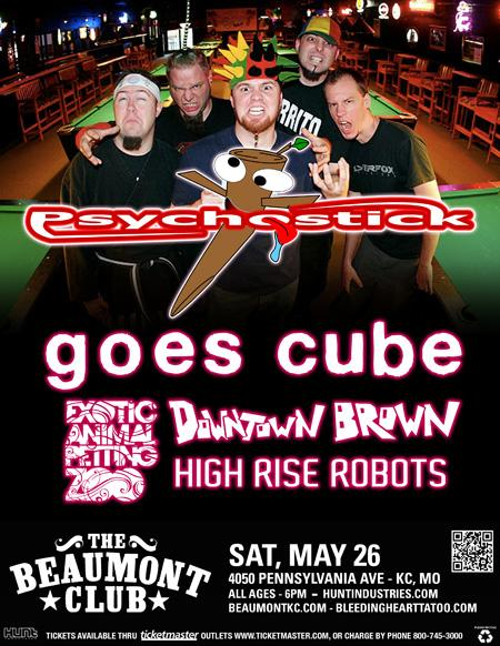 """""""Psychostick"""" plays Saturday evening at the Beaumont Club"""