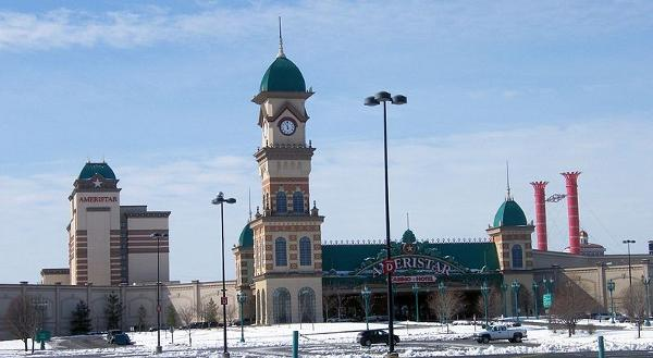 The Ameristar Casino and Hotel in Kansas City, MO.