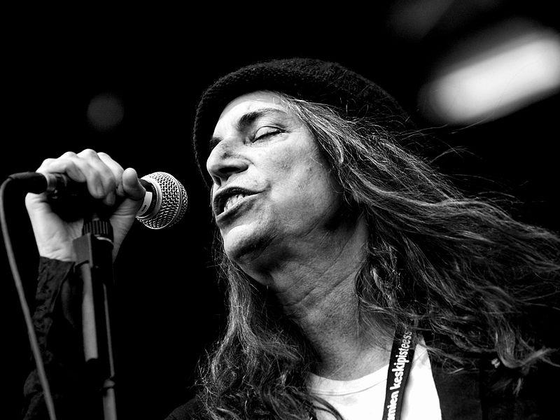 Patti Smith in 2007.