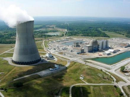 Ameren Missouri's Callaway County plant near Fulton. Ameren and Westinghouse Electric Co. have a plan in the works to build up to five small modular nuclear reactors near the plant.