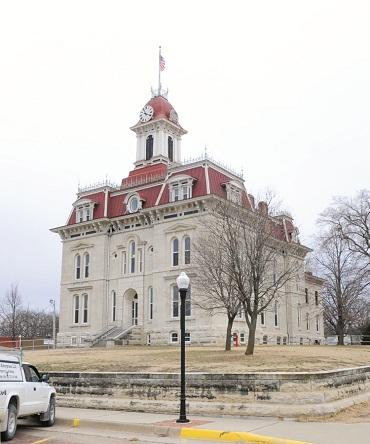 """Chase County Courthouse """"Now"""""""