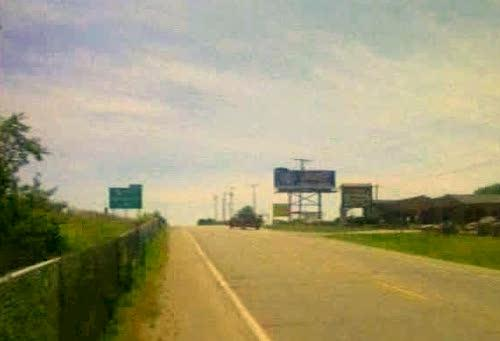 A billboard near Highway I-29.