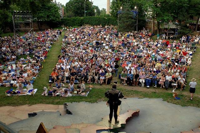 The Heart of America Shakespeare Festival begins a two-play rotation this weekend at Kansas City's Southmoreland Park