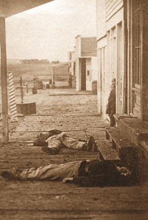 """Hays, Kansas (1873) """"Then"""""""