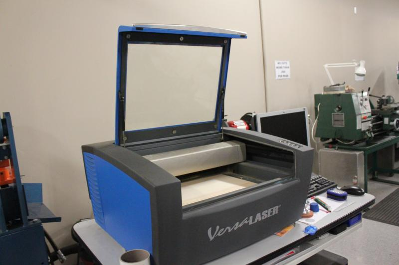 An advanced printer available in the Fab Lab.