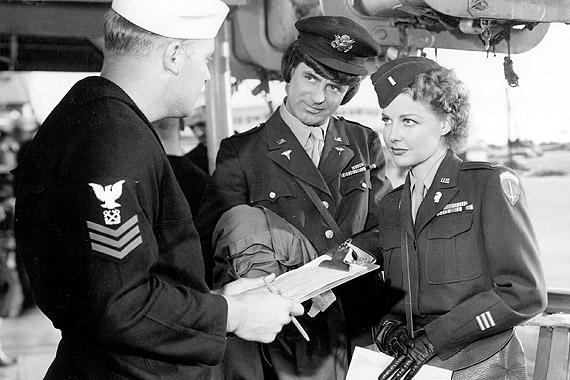 "A scene from ""I Was a Male War Bride."""