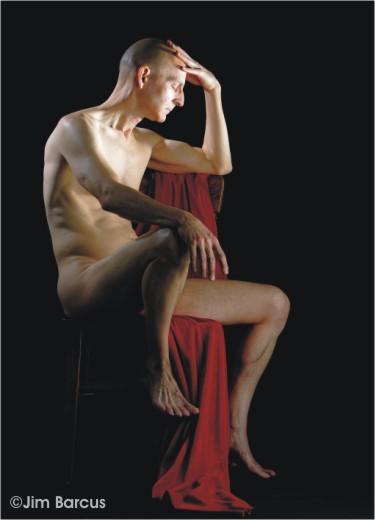 Art model Kent Van Dusseldorp