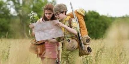 "Kara Hayward & Jared Gilman plot their escape to ""Moonrise Kingdom"""