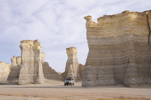 """Monument Rocks, Kansas """"Now"""""""