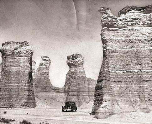 Monument Rocks, Kansas (1949)