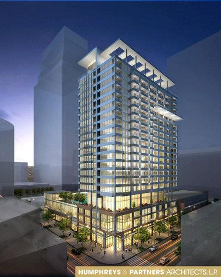 The Proposed Power and Light District Tower